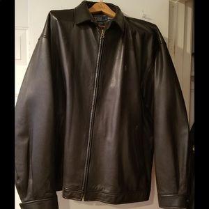 Ralph Lauren polo lambskin jacket
